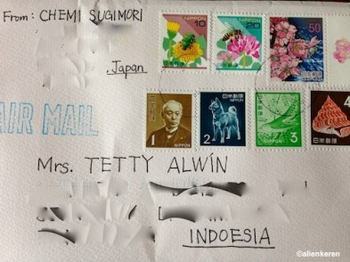 Send a letter to INDOESIA