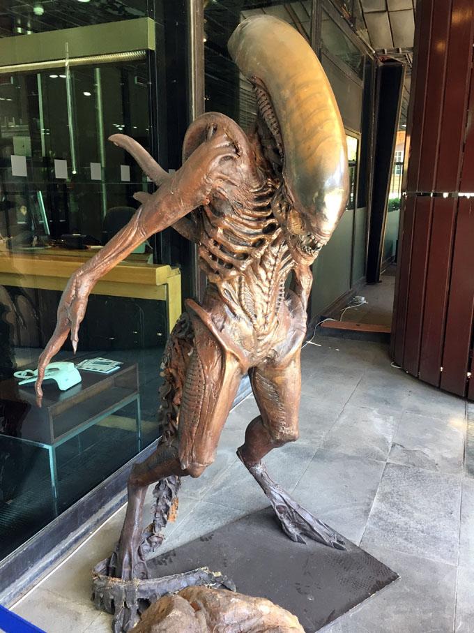 Alien alla RAI di Roma (2017)