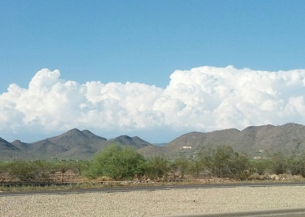 Clouds building North of Phoenix