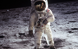 American-Moon-Landing