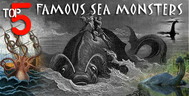 Top 5 Most Famous Sea and Lake Monsters