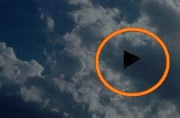 Huge triangle sighted over Pennsylvania