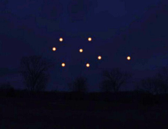 Glowing orbs witnessed over Michigan