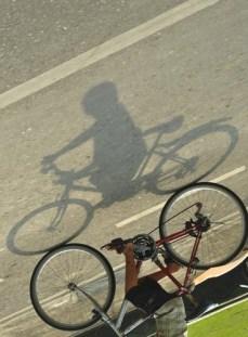 Biker shadow #2