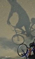 Bikers shadow #1