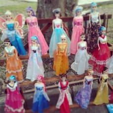 Colorfull barbie.