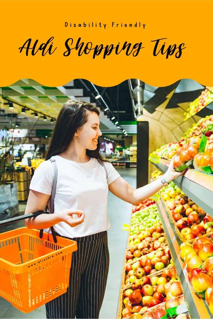 aldi shopping tips pinterest image
