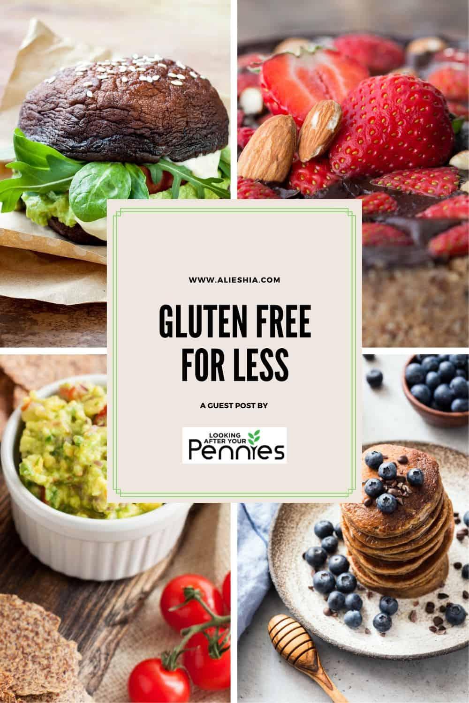 gluten-free for less pinterest pin
