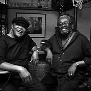 Hugh Masekela and Larry Willis