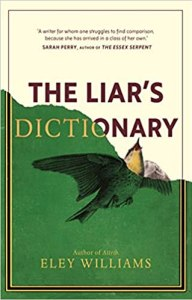 Cover image for The Liar's Dictionary by Eley Williams