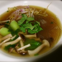 Asian style duck soup