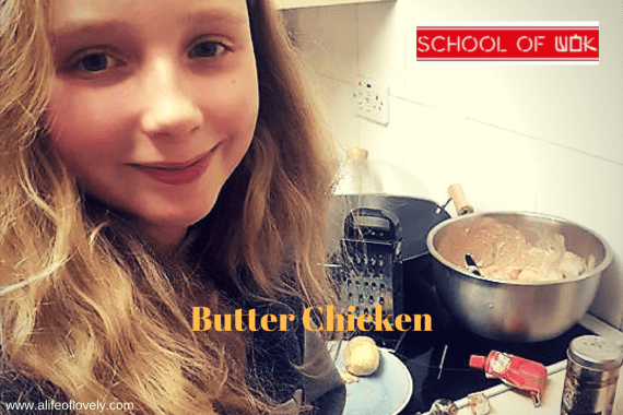 Indian butter chicken recipe - school of wok