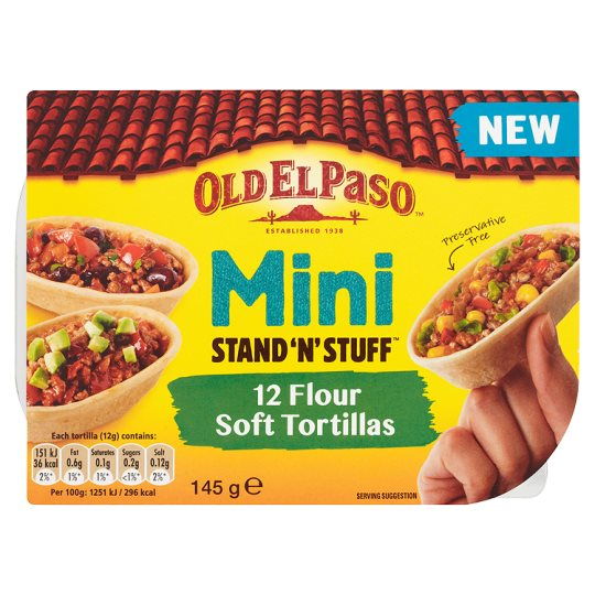 Old El Paso Weight Watchers recipe