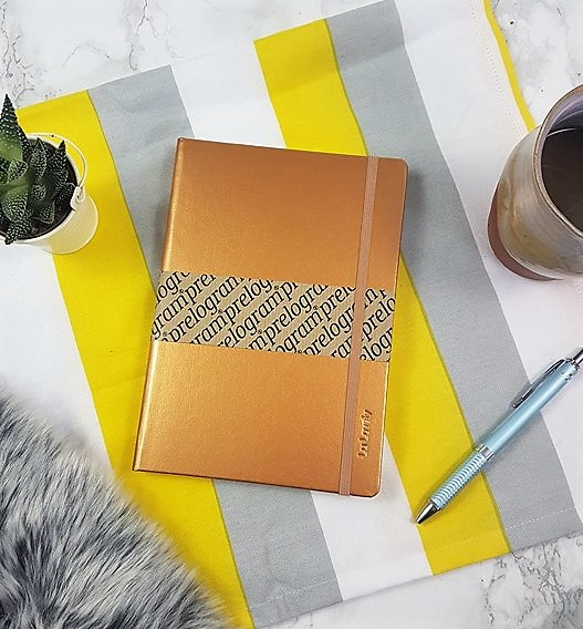 personalised Prelogram notebook