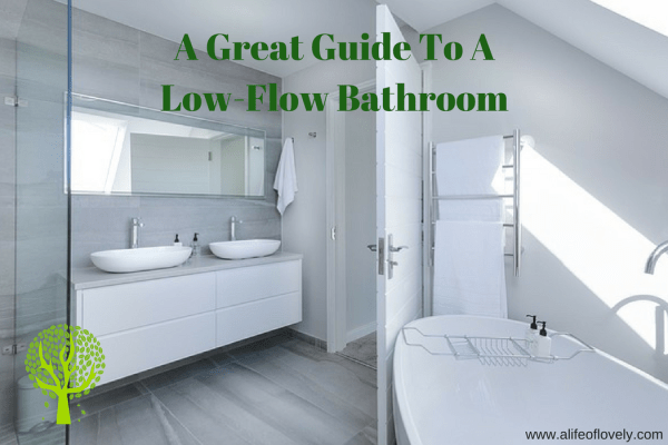 A Great Guide To A Low-Flow Bathroom