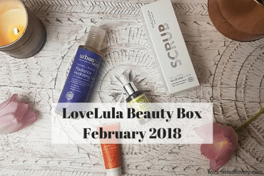 LoveLula Beauty Box - February 2018