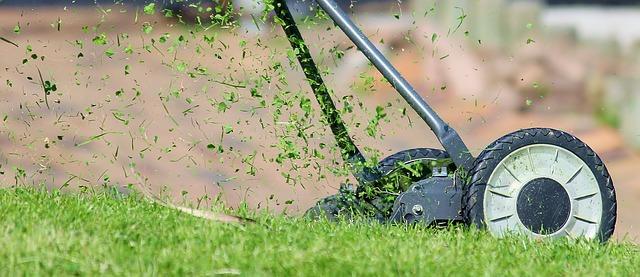 lawn mower - manual