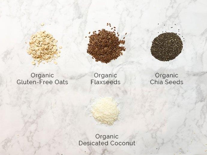 Nutribuddy breakfast ingredients