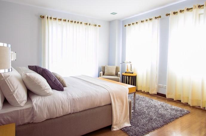 calm bedroom