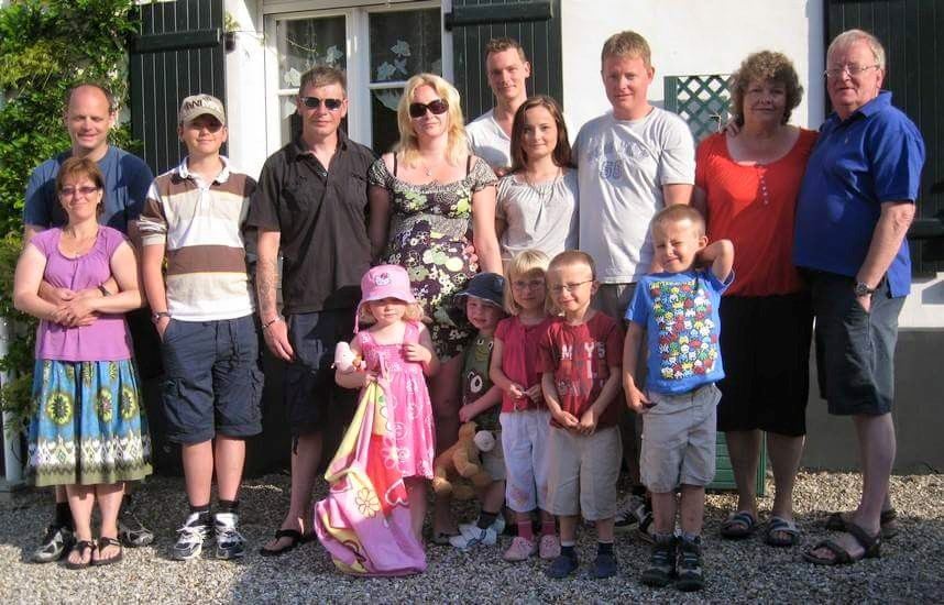 family holiday in France