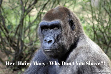Hey! Hairy Mary - Why Don't You Shave?!