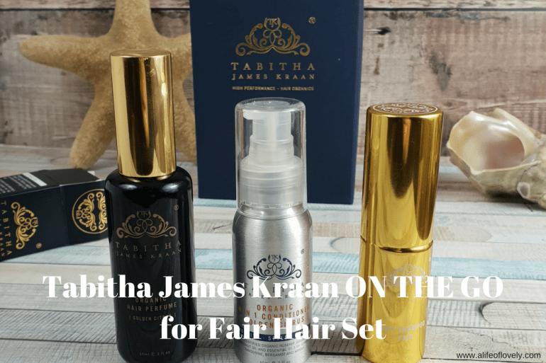 Tabitha James Kraan ON THE GO for Fair Hair Set