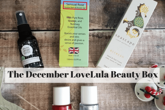 The December LoveLula Beauty Box