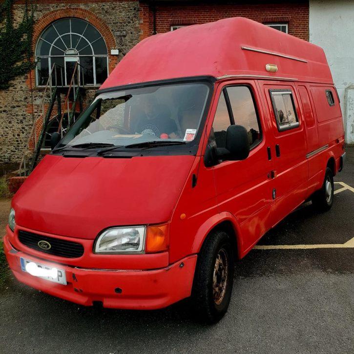 Big Red - transit van conversion