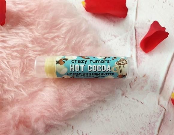 Crazy Rumors Lip Balm - Hot Cocoa