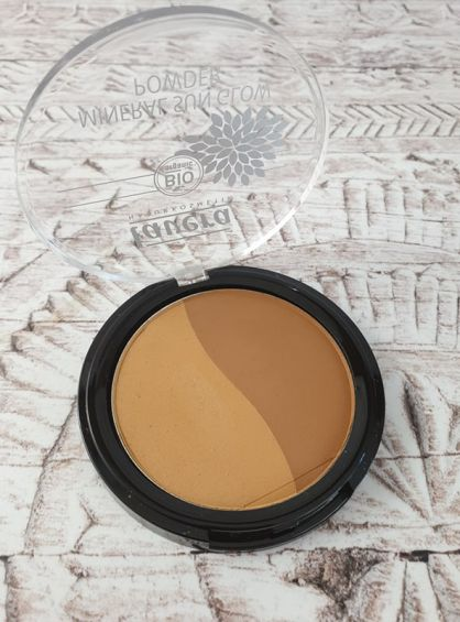 Lavera Mineral sun glow powder duo golden sahara