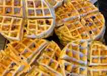 homemade waffles home cooking, freezer cooking