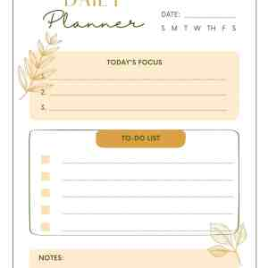 Classic daily weekly monthly planner