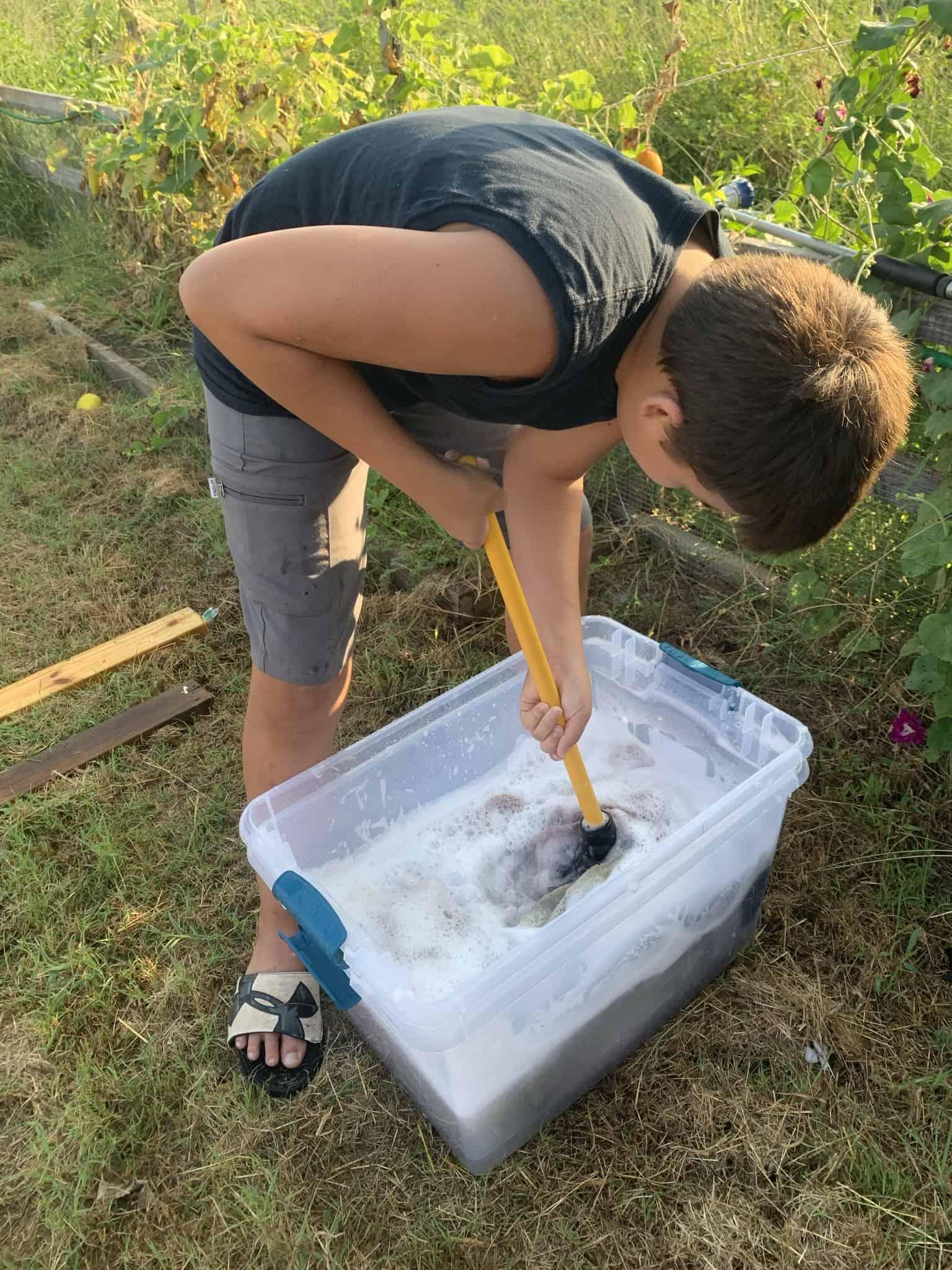 Hand Washing Laundry – 1 Powerful Skill