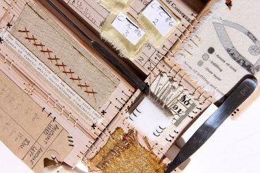 Detail of Textile Conservation commission by Ali Ferguson