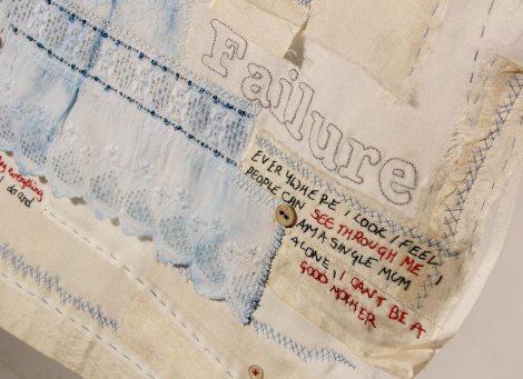 Textile art by Ali Ferguson