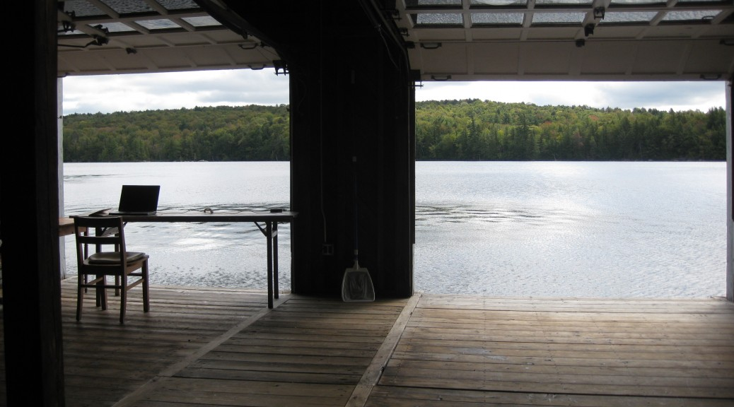 Blue Mountain Center Boathouse