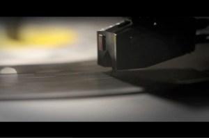 Stylus rides vinyl, shot by a Canon DSLR