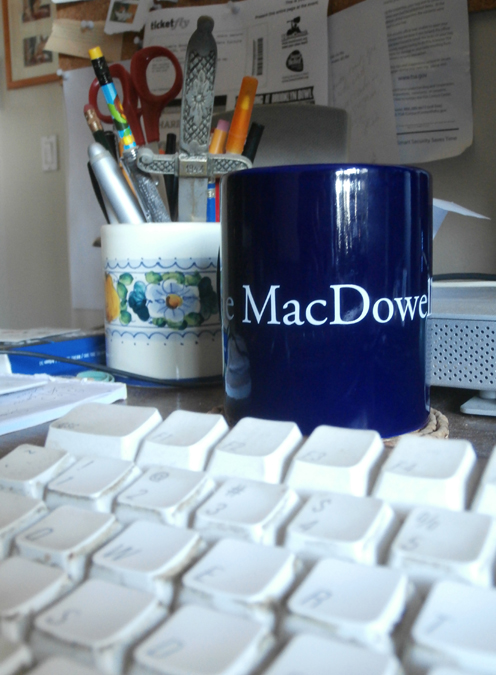 This is now my favorite coffee mug, used on days when I'm doing my work.