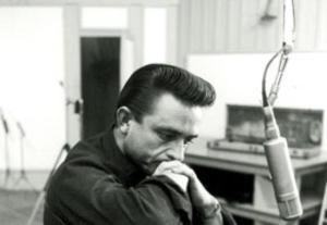 Johnny Cash working