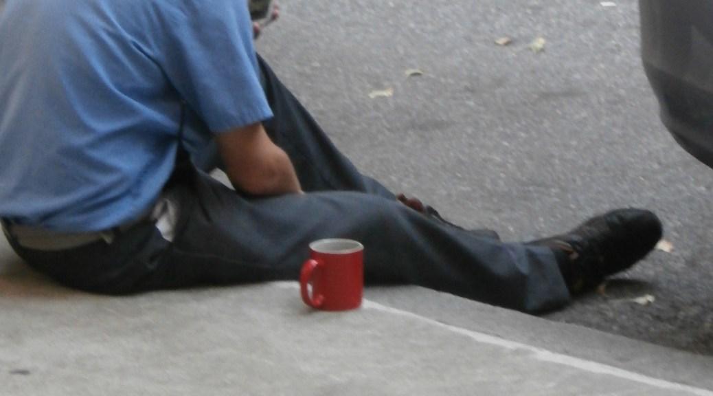 A red mug
