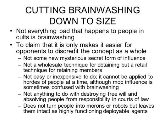 Fundamentalist Brainwashing