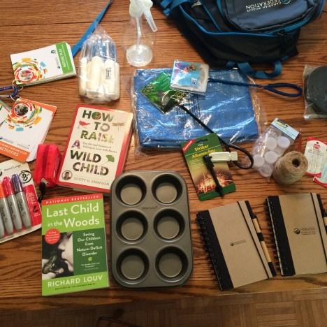 CWF backpack stuff