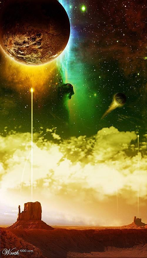 Lantunkan Doa Di Bumi Menembus Langit