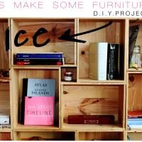 d.i.y. modular shelves