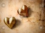 cutcaster-photo-100313572-Vintage-Valentine-hearts, 2 hearts
