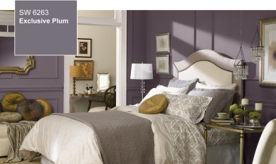 Sherwin-Williams 2014 Color of the Year, SW6263, Exclusive Plum
