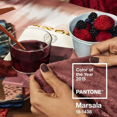 Pantone Color of the Year ~ Marsala
