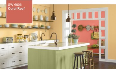 Sherwin Williams Coral Reef, SW 6606