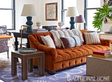 Bold & Elegant Interior by Tilton Fenwick Design, Traditional Home
