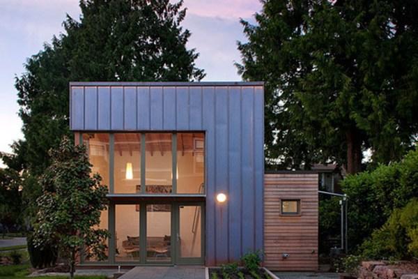 Microhousing~Garden Pavilion by Gary Shoemaker, Architect, Ninebark Design Build
